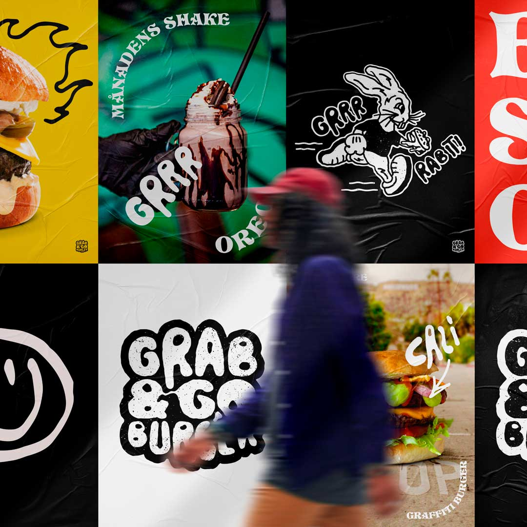 Grab & Go Burger